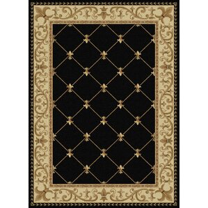 Clarence Black Gold Area Rug