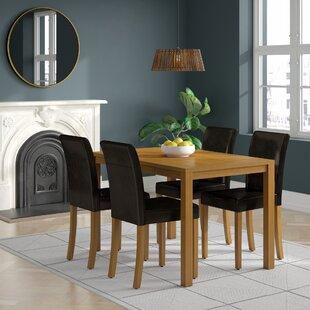 80b40afa478f3 Ivana Dining Set with 4 Chairs