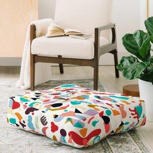 Ninola Design Imaginary Geo Animals Shapes Floor Pillow