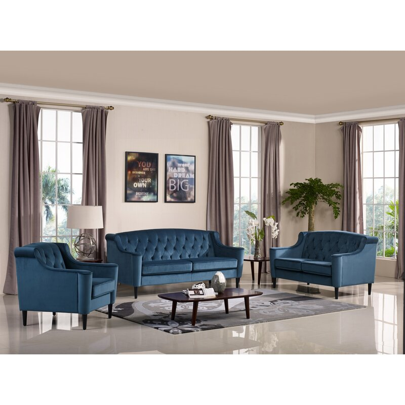 Crewkerne Velour Standard Sofa