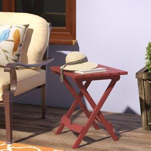 Kight Folding Plastic Side Table