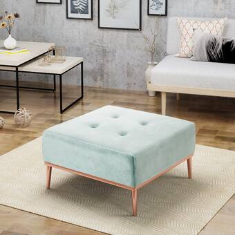 Admirable Coggin Tufted Ottoman Reviews Joss Main Theyellowbook Wood Chair Design Ideas Theyellowbookinfo