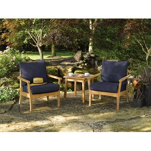 Huggins 3 Piece Conversation Set with Cushions