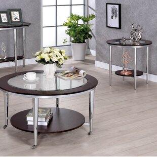 Orren Ellis Lefker 2 Piece Coffee Table Set