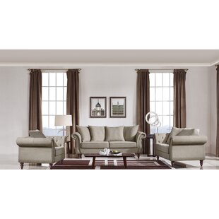 Affordable Sebrina Transitional 3 Piece Living Room Set by Darby Home Co Reviews (2019) & Buyer's Guide