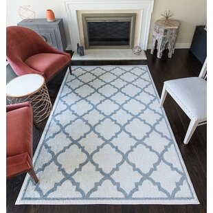 Read Reviews Bergen Gray/White Area Rug By Charlton Home