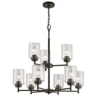 Latitude Run Honea 9-Light Shaded Chandelier