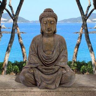 Design Toscano Medium Meditative Buddha of the Grand Temple Garden Statue