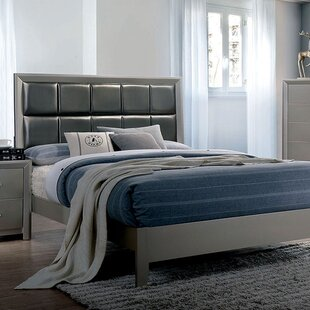 Wrought Studio Aahil Upholstered Panel Bed