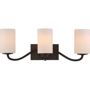 Best Timberlane 3-Light Vanity Light By Charlton Home