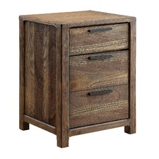 Natalie 3 Drawer Nightstand by A&J Homes Studio