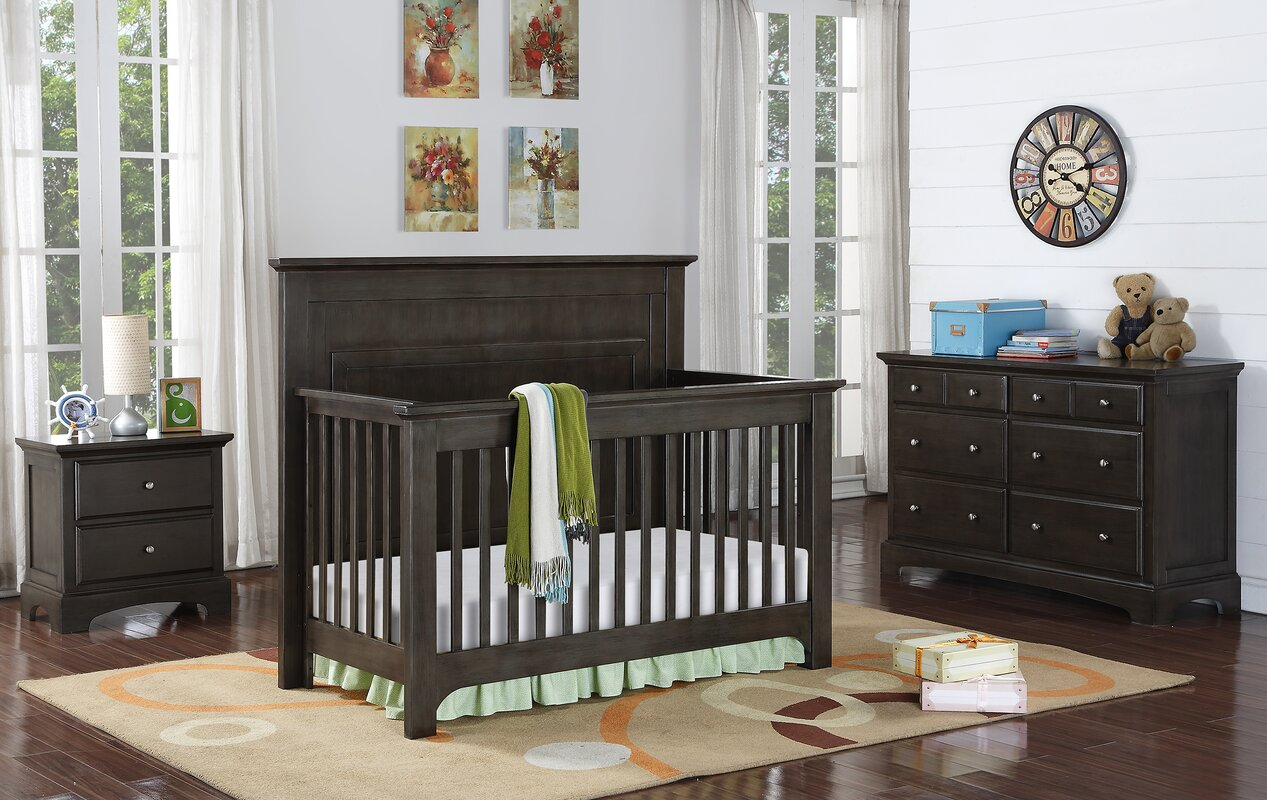 Guimauve 2-in-1 Convertible 3 Piece Crib Set