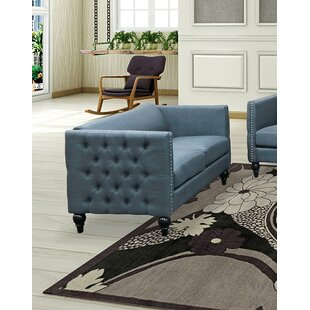 Charleen Upholstered Loveseat by House of Hampton