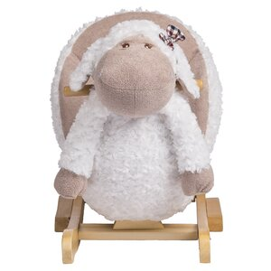 Bashful the Lamb Baby Rocker