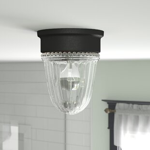 Find for Billingsley 1-Light Flush Mount By Charlton Home