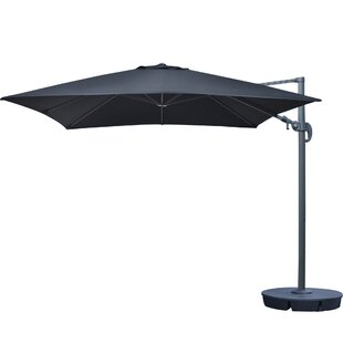 Freeport 10' Cantilever Sunbrella Umbrella by Island Umbrella Best Design