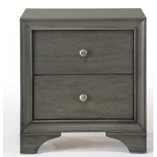 Bowdoin 2 Drawer Nightstand by Alcott Hill