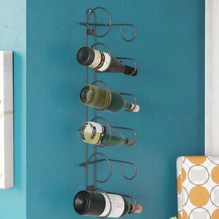 Chinook 6 Bottle Wall Mounted Wine Rack b..