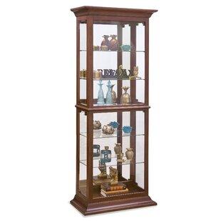 Philip Reinisch Co. Fairfield II Lighted Curio Cabinet