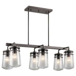 Pakwa 6-Light Outdoor Chandelier