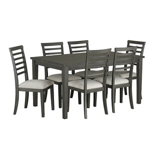 Chisdock 7 Piece Dining Set Gracie Oaks
