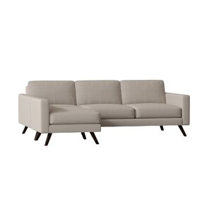 Affordable Price Dane Reversible Sectional by TrueModern Reviews (2019) & Buyer's Guide