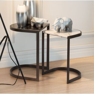 Clemence 2 Piece Nesting Tables