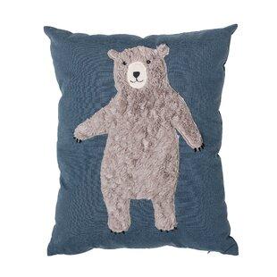Dimaggio Bear Throw Pillow
