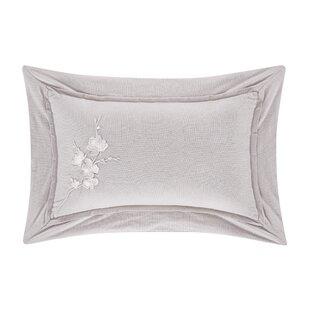 White Embroidered Boudoir Pillow Wayfair