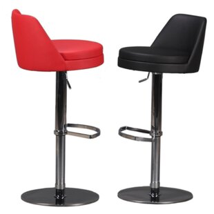 Dante Adjustable Height Swivel Bar Stool by Bellini Modern Living