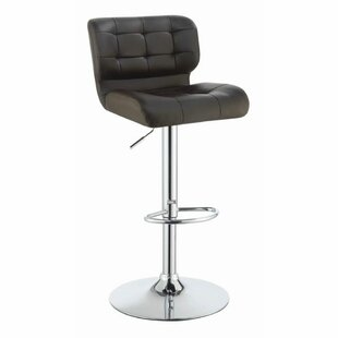 Hasnain Adjustable Height Bar Stool Set of 2