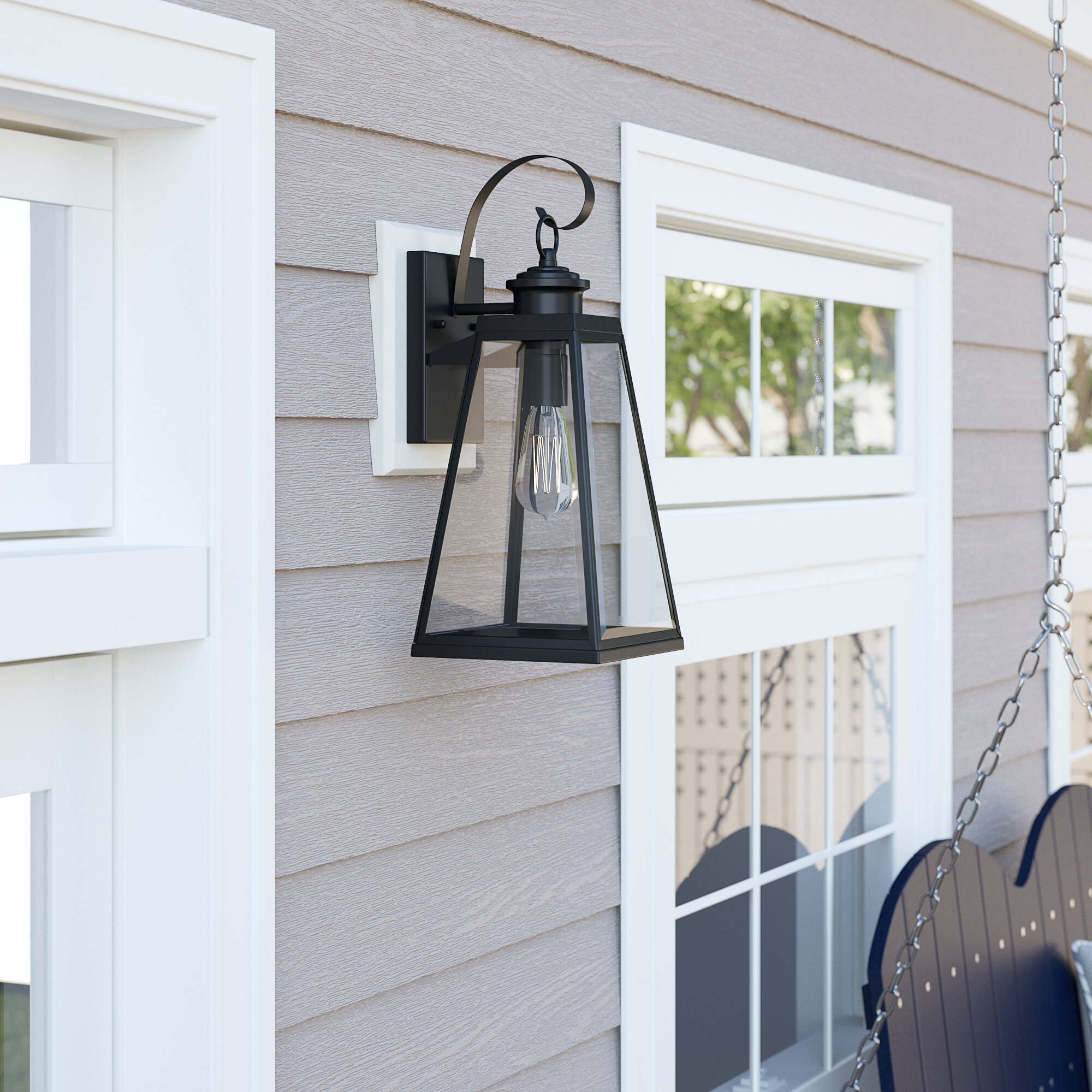 Cottage Country Outdoor Wall Lighting Free Shipping Over 35 Wayfair