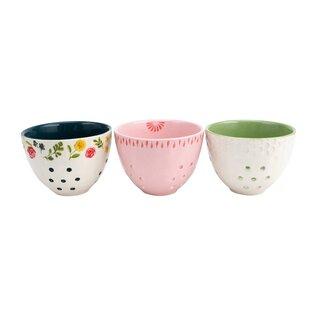 Ceramic Small Colander (Set of 3)