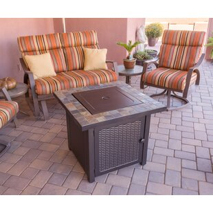 Slate Propane Gas Fire Pit Table