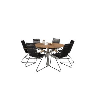 Akram 6 Seater Dining Set By Sol 72 Outdoor