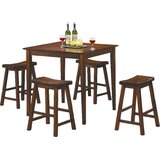 Bates 5-Piece Counter Height Dining Set by Andover Mills™