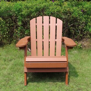 Faux Plastic Adirondack Chair