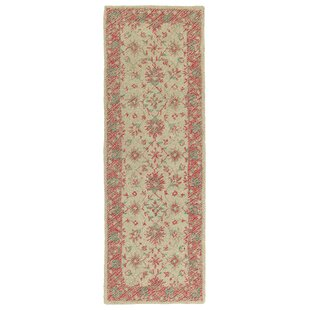 Dittmar Handmade Watermelon Indoor/Outdoor Area Rug