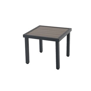 Yacoubou Aluminum Side Table By Sol 72 Outdoor
