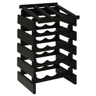 Dakota 15 Bottle Floor Wine Rack by Woode..