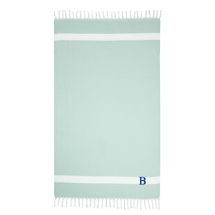 Privette Personalized Pestemal Turkish Cotton Beach Towel