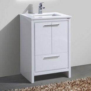 Bosley 24 Modern Bathroom Vanity by Mercury Row