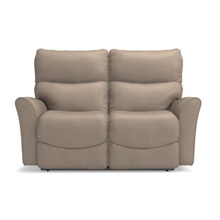 Rowan Power-Recline-XRW Reclina-Way® Full Leather Reclining Loveseat by La-Z-Boy