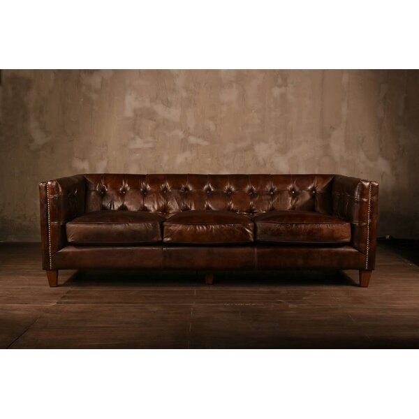 Lovely PoliVaz Leather Chesterfield Sofa U0026 Reviews | Wayfair