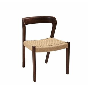 Couto Solid Dining Chair by Bungalow Rose