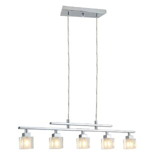 Ivy Bronx Arnette 5-Light Kitchen Island Pendant