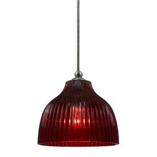 Ebern Designs Dubois 1-Light Dome Pendant