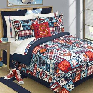 Zoomie Kids Doyle Reversible Comforter Set