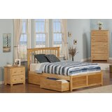 Poynor Platform Bed with Drawers by Harriet Bee