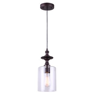 Mercury Row Zahra 1-Light Cylinder Pendant